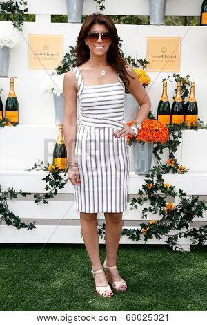 JERSEY CITY, NJ-MAY 31: TV personality Lauren Scala attends the 7th Annual Veuve Cliquot Polo Classic at Liberty State Park on May 31, 2014 in Jersey City, NJ.