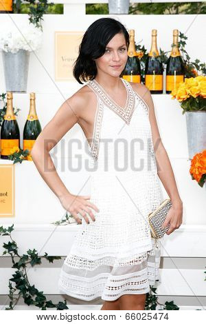JERSEY CITY, NJ-MAY 31: DJ Leigh Lezark attends the 7th Annual Veuve Cliquot Polo Classic at Liberty State Park on May 31, 2014 in Jersey City, NJ.