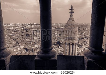 View From Sacre-cœur Tower
