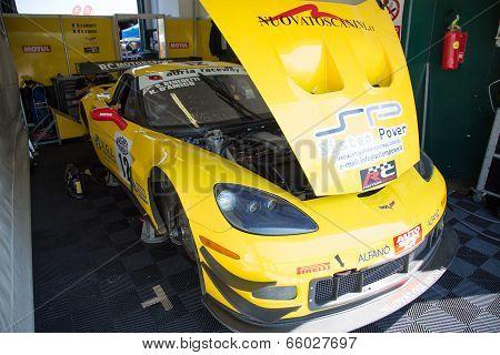 Corvette Z06 Gt3 Race Car