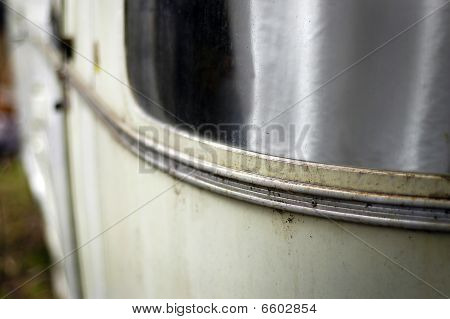 Curved Trailer Window Detail