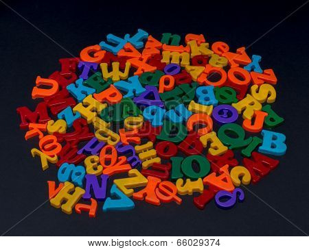 Letters Of Toy Alphabet