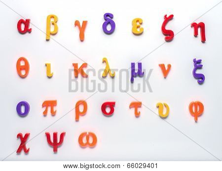 Greek Toy Alphabet