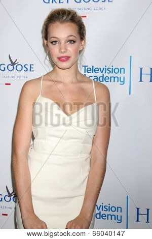 LOS ANGELES - JUN 1:  Sadie Colvano at the 7th Annual Television Academy Honors at SLS Hotel on June 1, 2014 in Los Angeles, CA