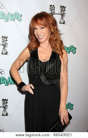 LOS ANGELES - JUN 1:  Kathy Griffin at the The Groundlings 40th Anniversary Gala at HYDE Sunset: Kitchen + Cocktails on June 1, 2014 in Los Angeles, CA