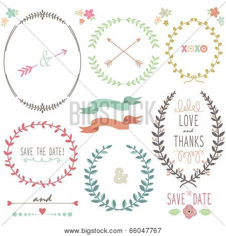 Laurel Wreath Wedding- illustration