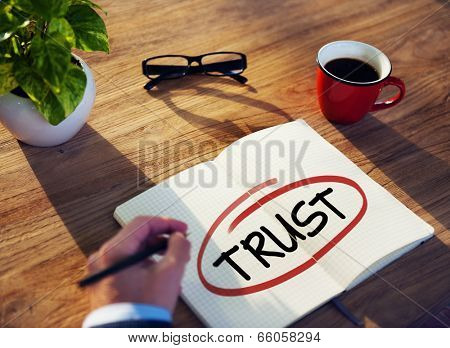 Diverse Businessman Brainstorming About Trust