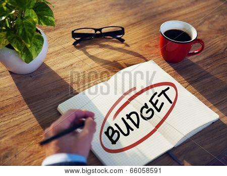 Diverse Businessman Brainstorming About Budget