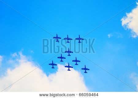 Airshow in Zhukovsky, Russia