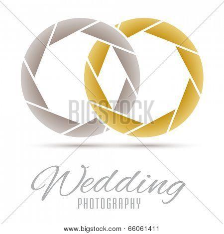 Wedding Photography Vector Design Template