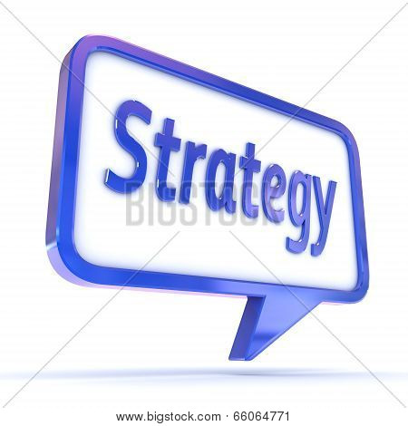 Speech Bubble Strategy