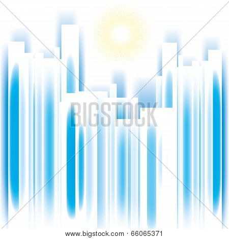 Abstract Vector Cityscape