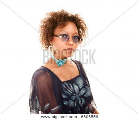 Pretty African American Woman