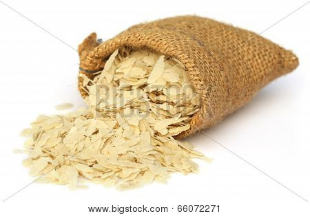 Flattened Rice Of South East Asia
