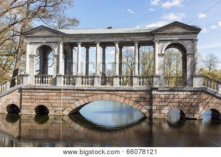Marble Bridge In The Catherine Park