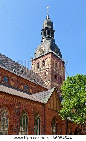 Belfry Of Dome Cathedral (1211), Riga, Latvia