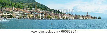 Salo town at the lake Garda, Italy