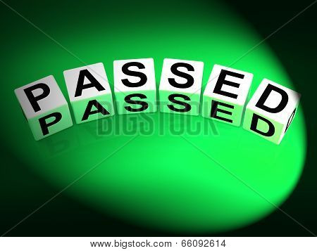 Passed Dice Refer To Satisfied Verified And Excellent Assurance