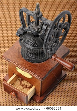 Antique Coffee Mill