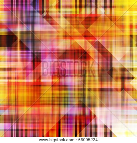 art abstract geometric textured colorful background in oink, yellow, brown and purple colors