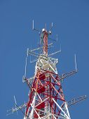 image of antenna  - Telecommunications Antenna - JPG