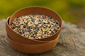 stock photo of pea  - Dry Lentils - JPG