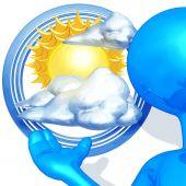 Weather Presenter poster