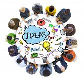 foto of seminar  - People Social Networking an Ideas Concepts - JPG