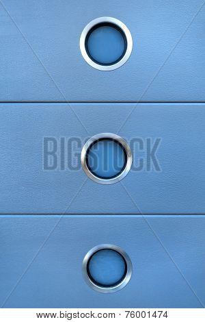Detail of a light blue design