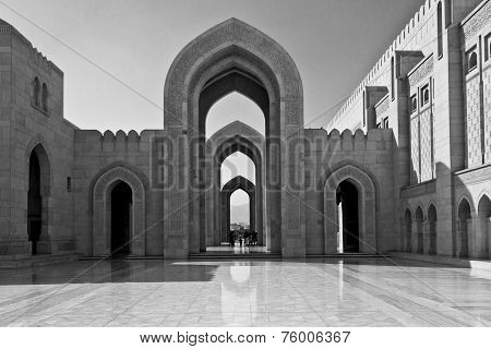 The Sultan Qaboos Grand Mosque, external