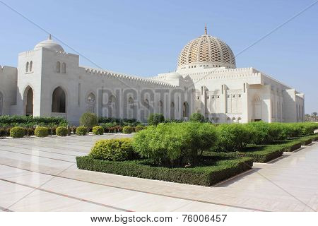 Sultan Qaboos Grand Mosque outdoor