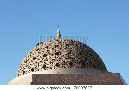 Gold Gazebo Dome