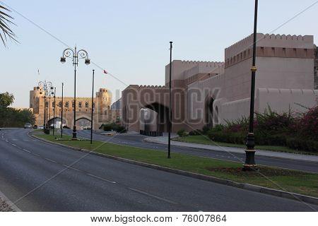 Muscat Gate Museum street