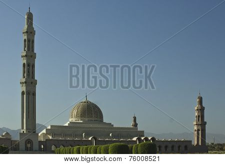 Sultan Qaboos Grand Mosque overview