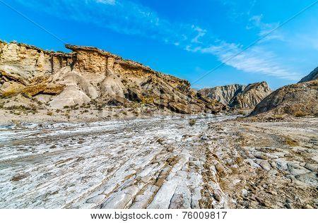 Salt and sand in the Tabernas desert