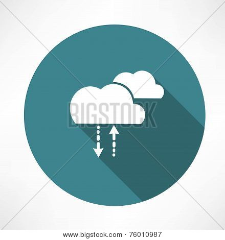 cycle of precipitation icon