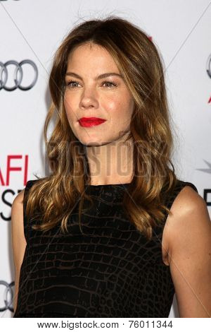 LOS ANGELES - NOV 12:  Michelle Monaghan at the A Special Tribute to Sophia Loren at AFI Film Festival at the Dolby Theater on November 12, 2014 in Los Angeles, CA