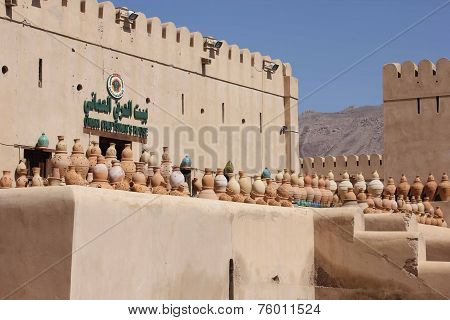 Nizwa Fort Castle shop