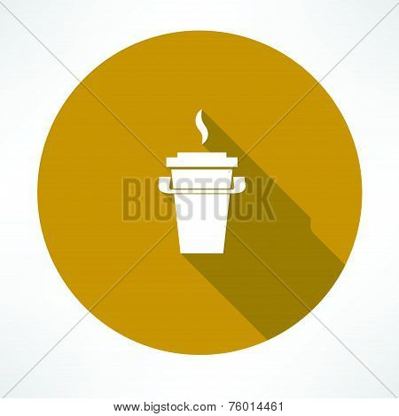 paper coffee cup icon