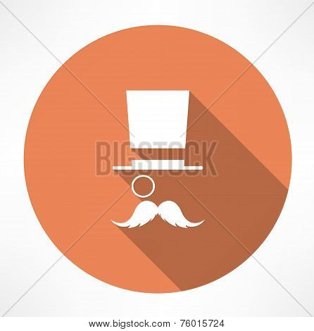Gentleman vector icon
