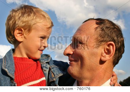 grandfather with boy 2