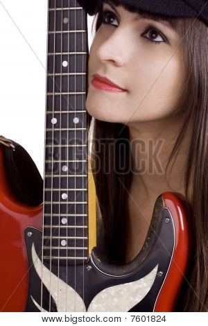 Cool Female Musician