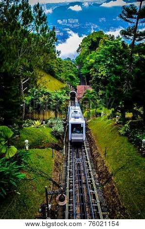 Train to the hill