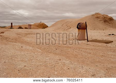 Coober Pedy, Ventilation System, South Australia