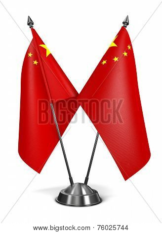 China - Miniature Flags.
