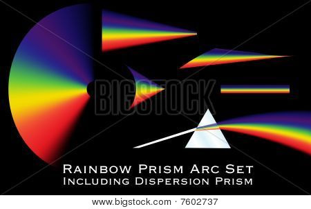 Rainbow Prism Arc Set