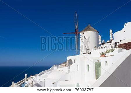 The Windmill Of Oia
