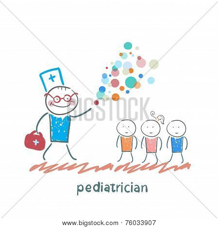 pediatrician shows children miracle