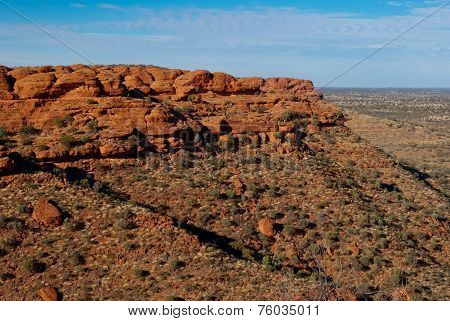 Kings Canyon Landscape, Northern Territory, Australia