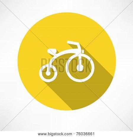 child bike flat